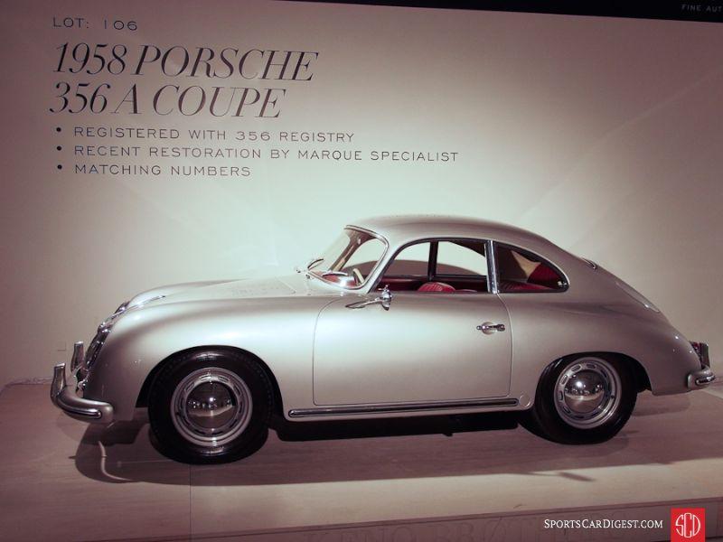 1958 Porsche 356A Coupe