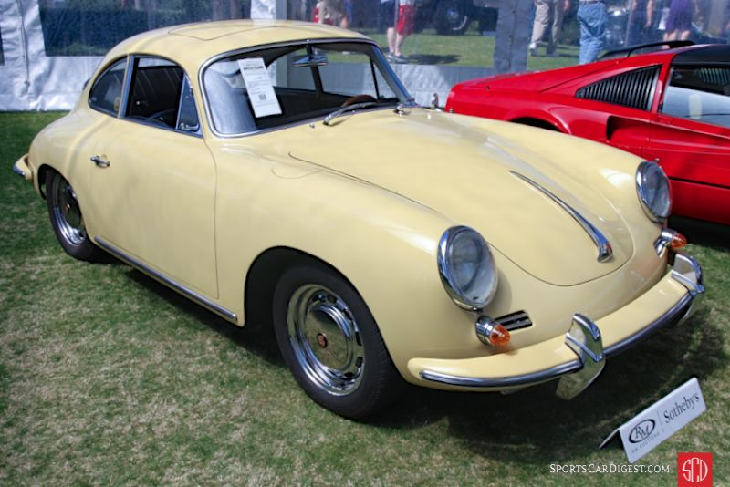 1964 Porsche 356 SC Coupe, Body by Reutter