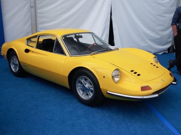 1968 Ferrari 206 GT Dino Coupe
