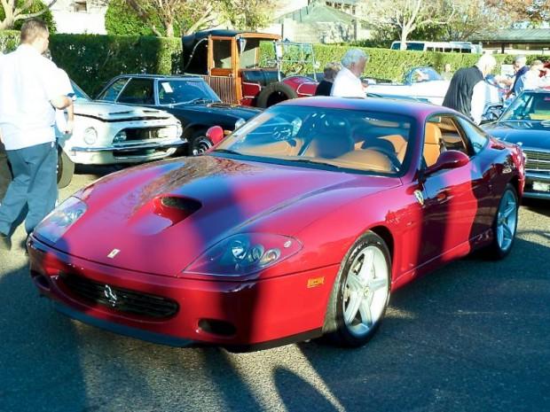 2002 Ferrari 575 F-1 Maranello Coupe