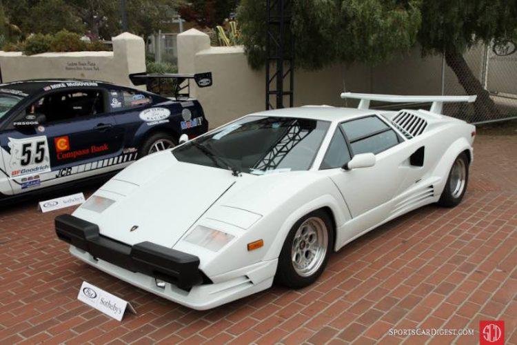 989 Lamborghini Countach Silver Anniversary Coupe