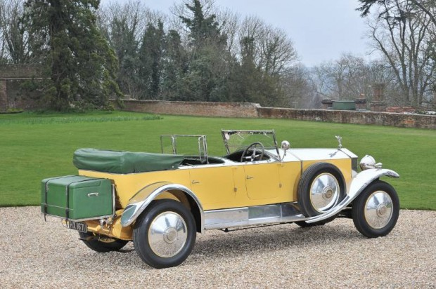 1929 Rolls-Royce Phantom I Tourer, Body by Barker