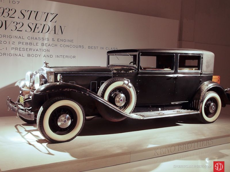 1932 Stutz DV-32 4-Dr. Sedan, Body by LeBaron