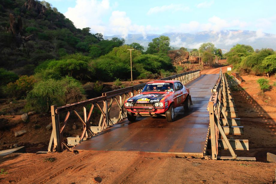 Ian Duncan / Amaar Slatch, Ford Capri V8