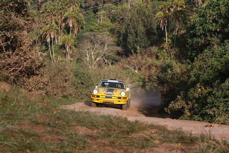 Bjorn Waldegard / Mathias Waldegard, Porsche 911