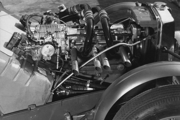 Supercharged engine in John Edgar's MG Special