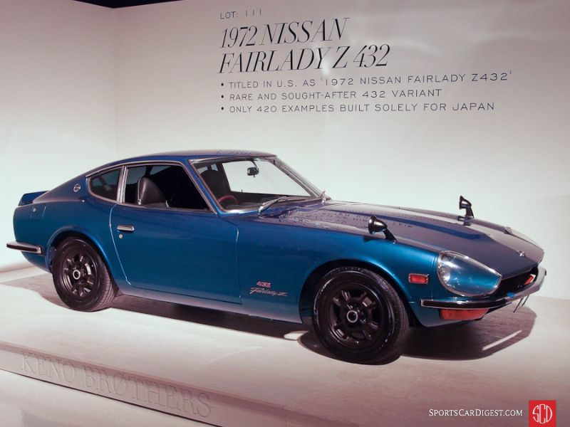 1972 Datsun Fairlady Z 432 Coupe
