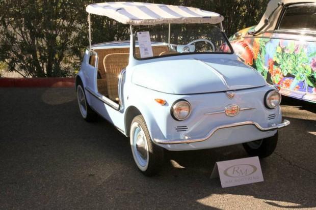 1958 Fiat 500 Jolly, Body by Ghia