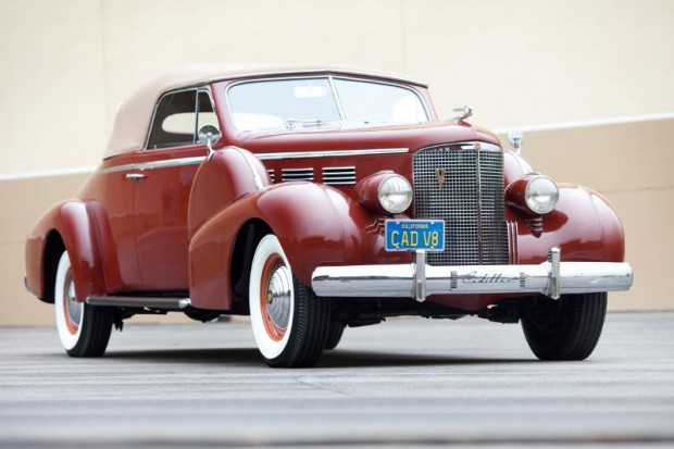 1938 Cadillac Series 75 Convertible Coupe