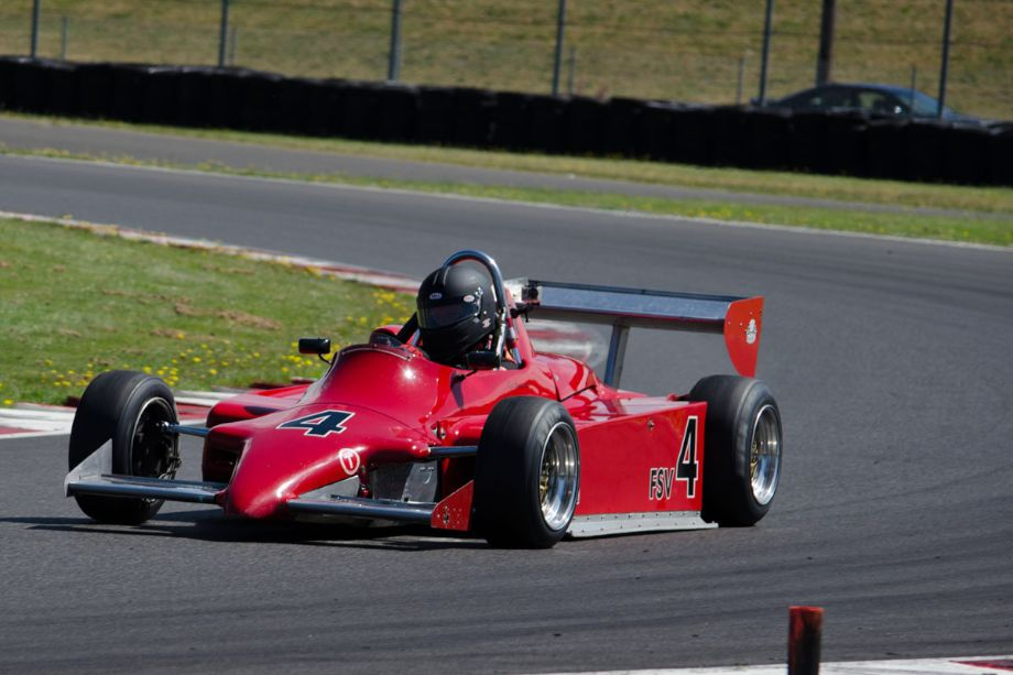 Ron Emmerson, 1985 Ralt RT5. (Photo by Paul Smith, 2013)