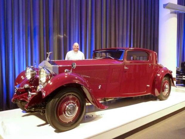 1933 Rolls-Royce Phantom II Continental Sports Coupe, Body by Freestone and Webb