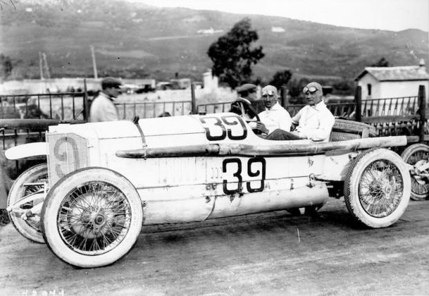 Mercedes 28/95 PS, 1922 Targa Florio