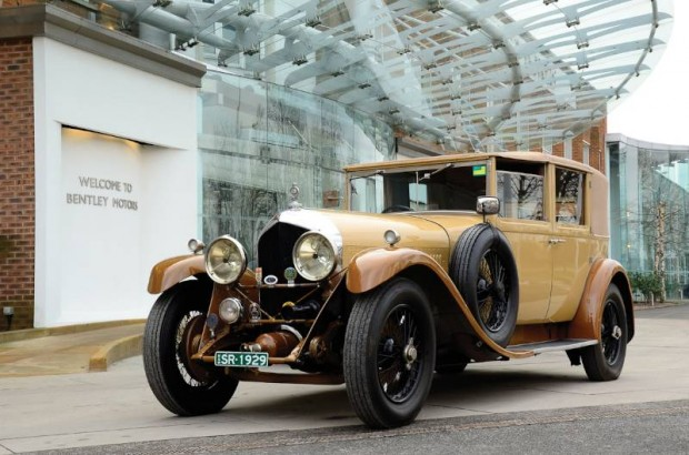 929 Bentley 6.5 Liter Sedanca de Ville