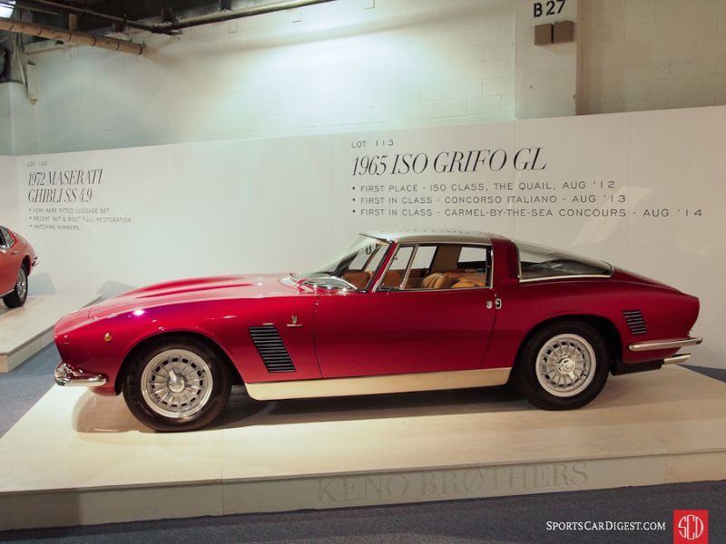1965 Iso Rivolta Grifo L Coupe, Body by Bertone