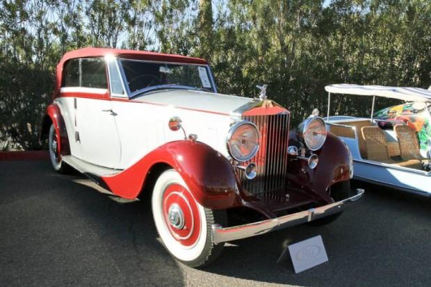 1937 Rolls-Royce 25/30 Wingham 4-Door Cabriolet, Body by Martin Walter