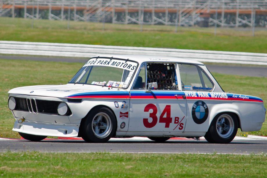Jeff Gerken, 1968 BMW. (Photo by Paul Smith, 2013)