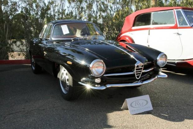 1960 Alfa Romeo Giulietta Veloce Sprint Speciale, Body by Bertone