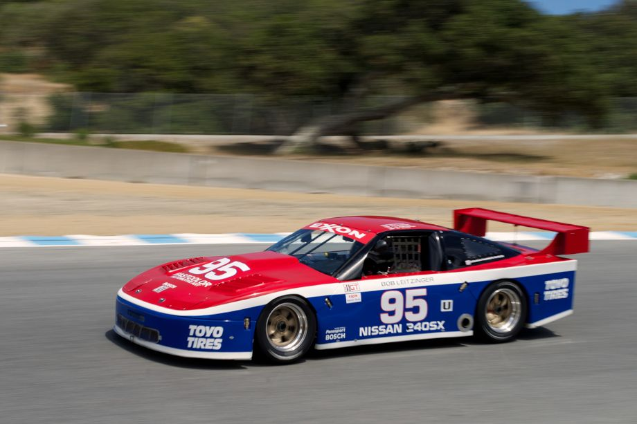 Philip Mendelovitz's 1989 Nissan 240SX in turn nine.