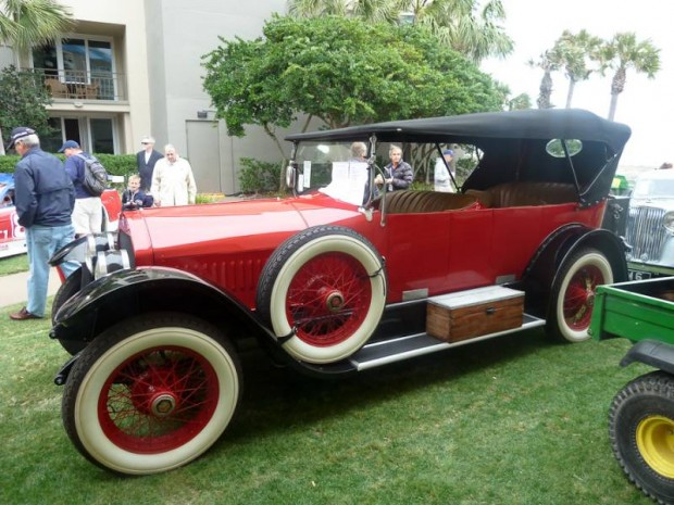 1920 Stutz Model H 7-Passenger Touring for sale
