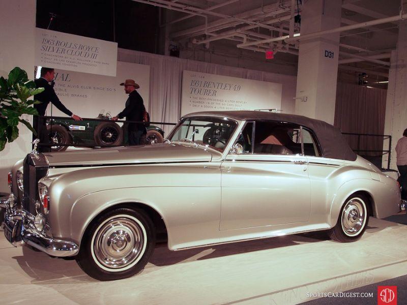 1963 Rolls-Royce Silver Cloud III Drophead Coupe, Body by H.J. Mulliner