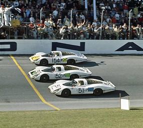 Porsche 1-2-3 finish at 1968 24 Hours of Daytona