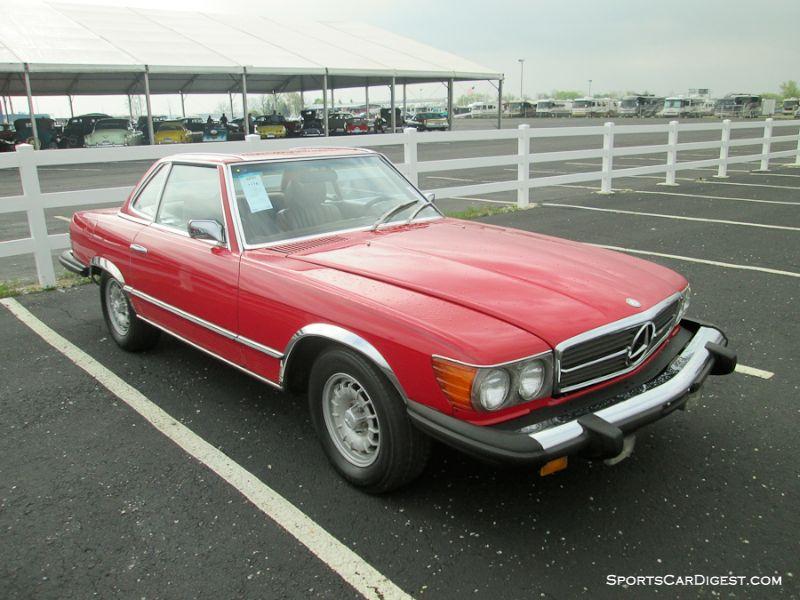 1974 Mercedes-Benz 450SL Convertible