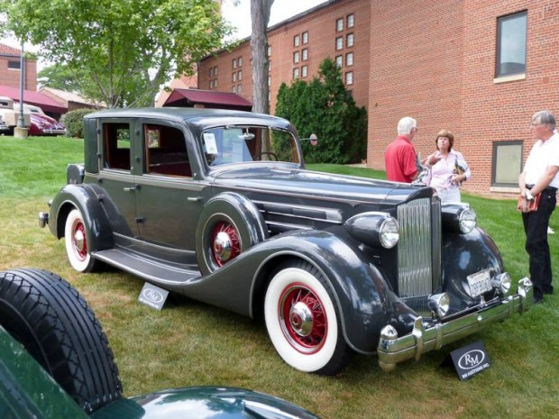 1935 Packard Twelve Close-Coupled Limousine