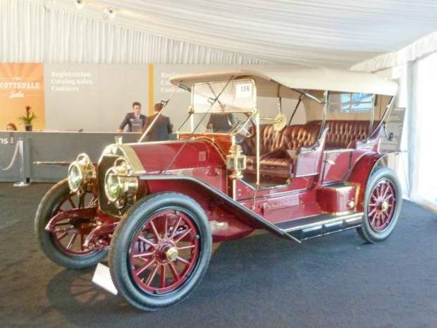 1910 Simplex 50HP Toy Tonneau, Body by Holbrook