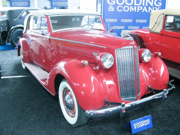 1937 Packard 115-C Cabriolet, Body by Graber