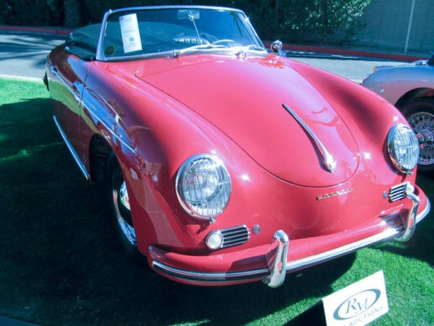 1959 Porsche 356A Convertible D, Body by Drauz