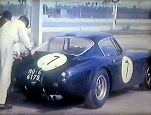 Ferrari 250 GT SWB of Innes Ireland, 1962 Daytona 3 Hour Continental