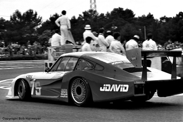 "John Fitzpatrick and David Hobbs drove Fitzpatrick's Porsche 935/78 ""Moby Dick"" entry, a long-tail version designed specifically for Le Mans, to a class victory in the IMSA GTX category, and a 4th place overall finish behind the factory Porsche 956s."