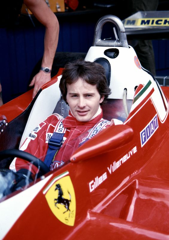 Ferrari Villeneuve And Canada Forever Linked