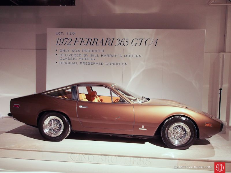 1972 Ferrari 365 GTC/4 Coupe