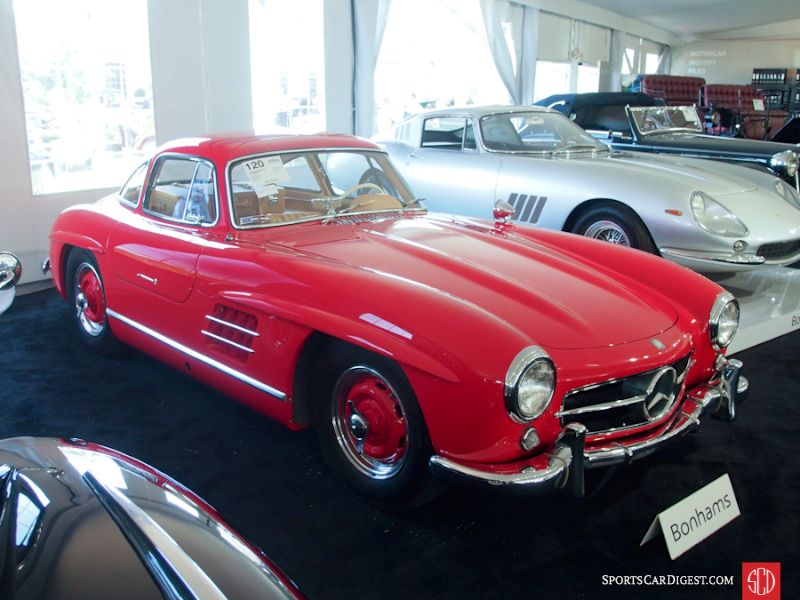 Mercedes benz sold at auction in 2016 photos analysis for Mercedes benz 300sl gullwing price