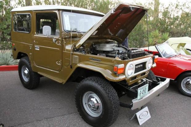 1977 Toyota FJ40 Land Cruiser Utility