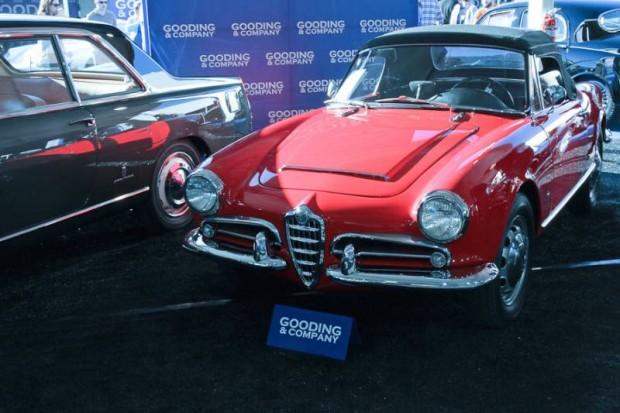 1964 Alfa Romeo Giulia Spider, Body by Pininfarina