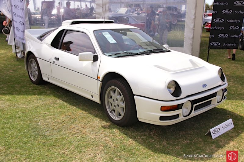 1985 Ford RS200 Evolution Coupe, Body by Ghia