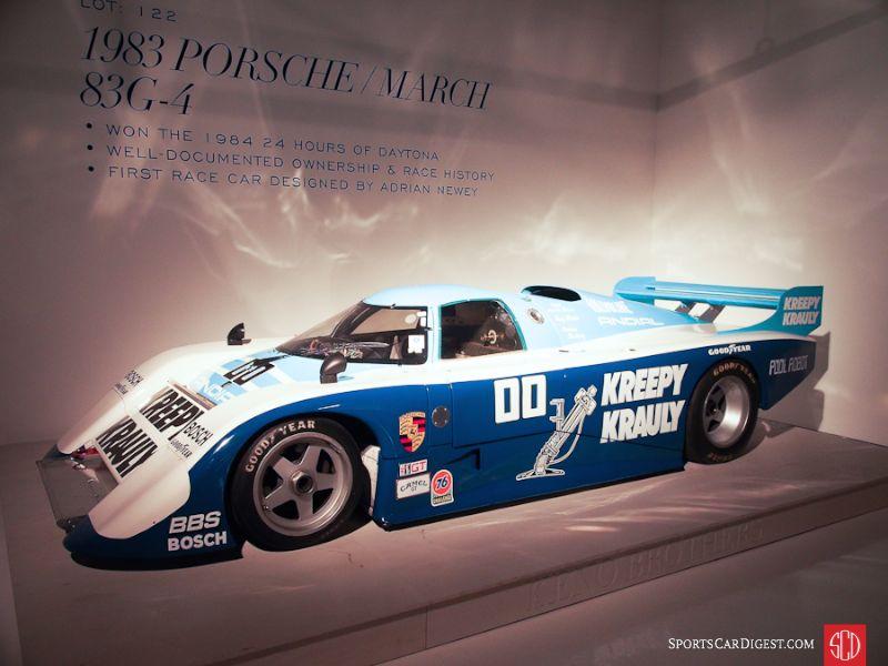 1983 March-Porsche 83G Endurance racer