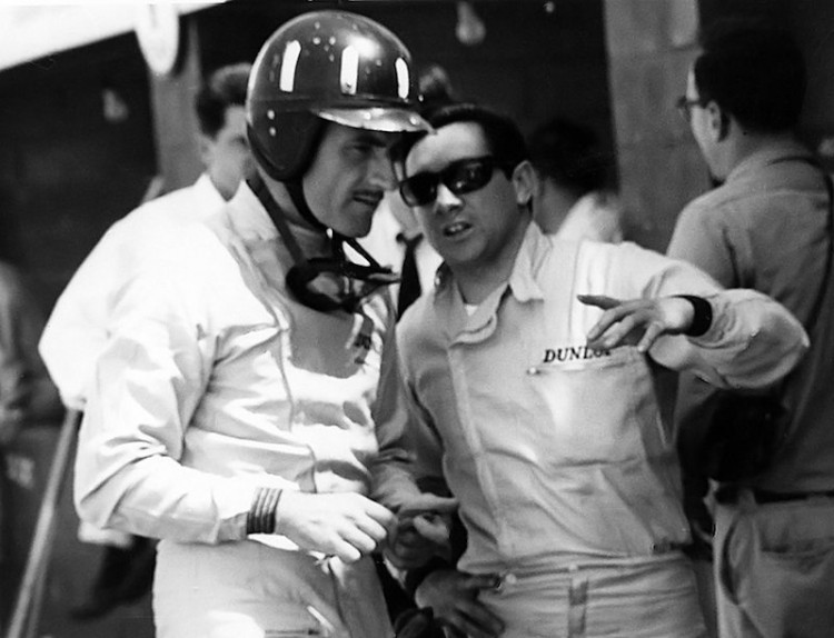Graham Hill and Pedro Rodriguez