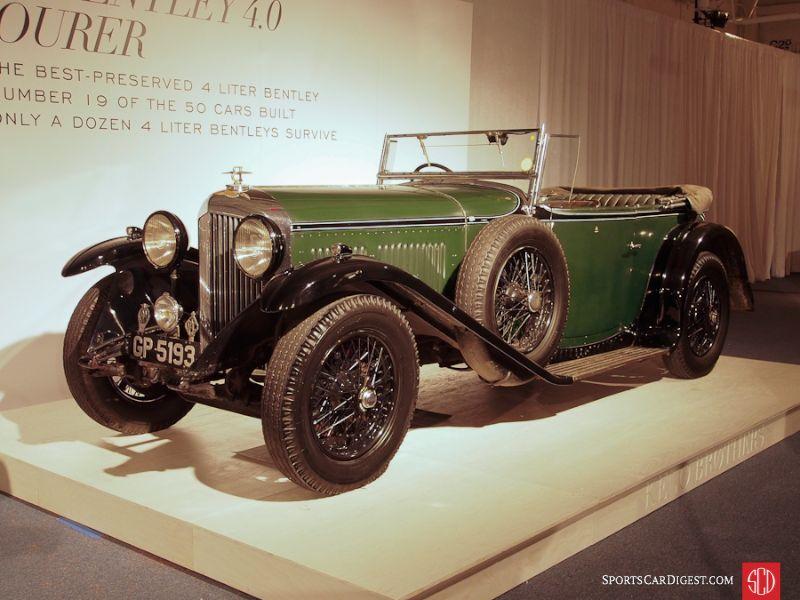 1931 Bentley 4-Liter Touring, Body by Vanden Plas