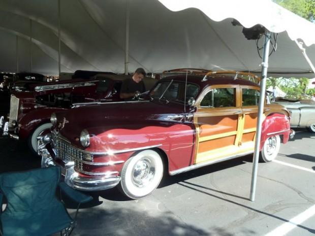 1948 Chrysler Windsor Town and Country 4-Dr. Sedan