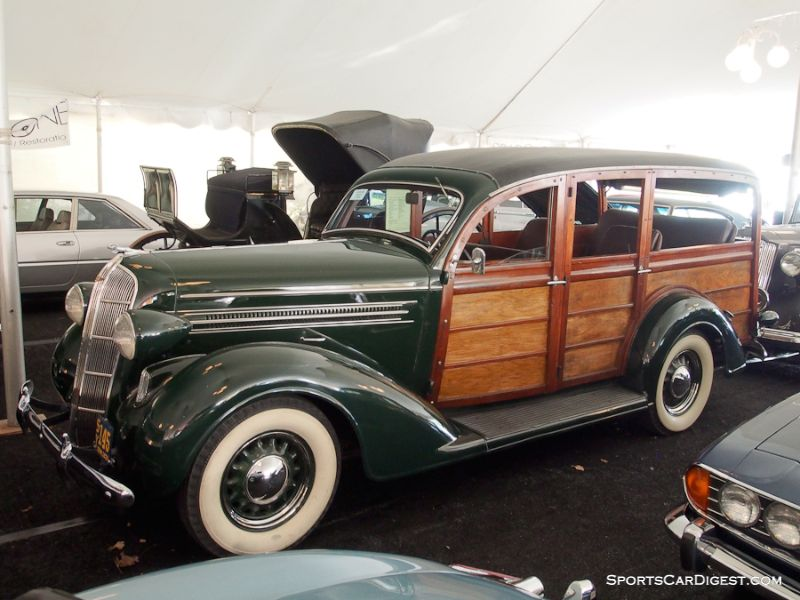 1936 Dodge D-2 Station Wagon, Body by Cantrell