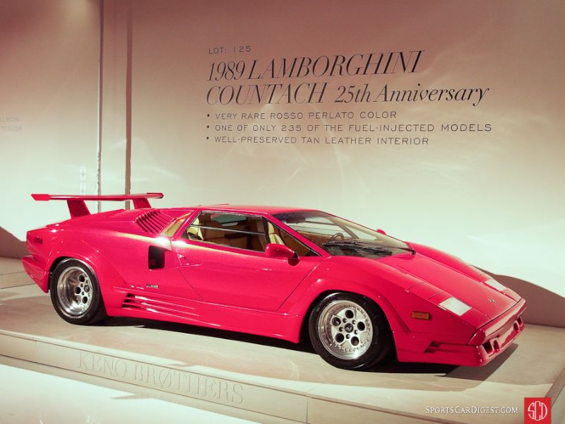 1989 Lamborghini Countach Coupe, Body by Bertone