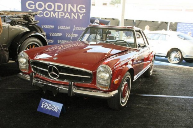 Gooding company scottsdale 2014 auction report for Mercedes benz north scottsdale
