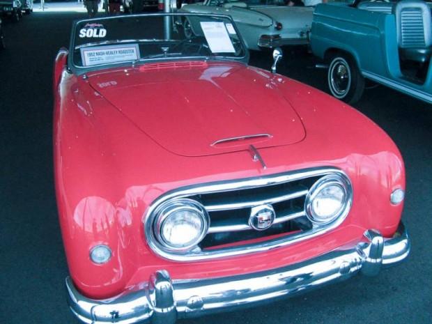 1952 Nash-Healey Series 25 Convertible