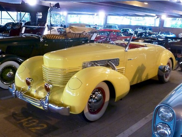 1937 Cord 812 Supercharged Convertible Coupe Sportsman