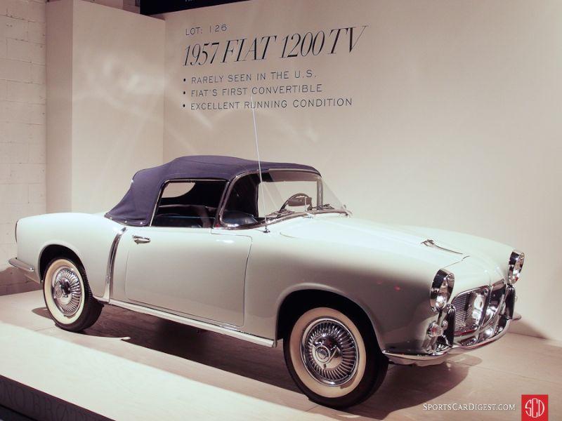 1957 Fiat 1200TV Convertible