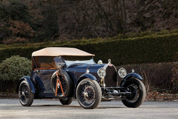 1929 Bugatti Type 44 Grand Sport 4-seat Tourer