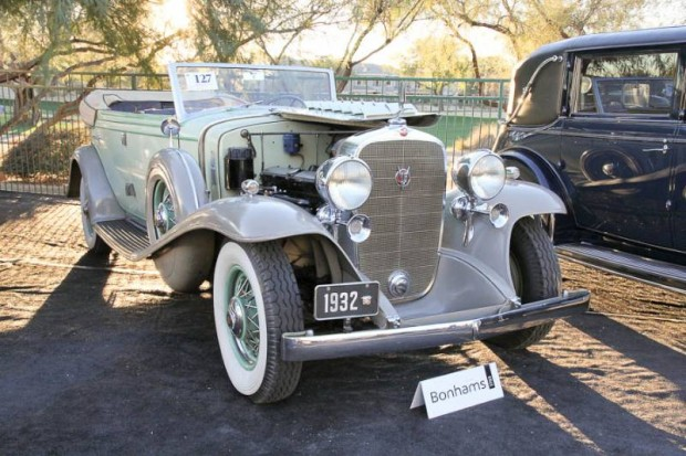1932 Cadillac 452-B V-16 All Weather Phaeton, Body by Fisher